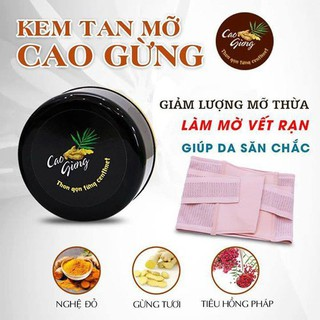 Cao gừng thiên nhiên Việt Nam tan mỡ chính hãng, hiệu quả