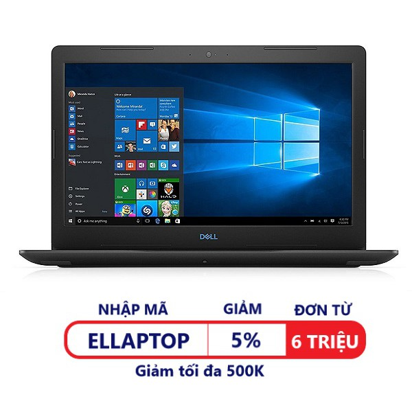 Laptop Dell G3 Inspiron 3579 (G5I58564)-Intel Core i5-8300H.15'6 inches