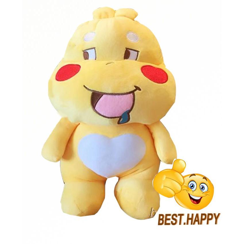 [CÓ SẴN] Gấu bông Qoobee đáng yêu, quà tặng đặc biệt cho mọi lứa tuổi size 50cm ( giao ngẫu...