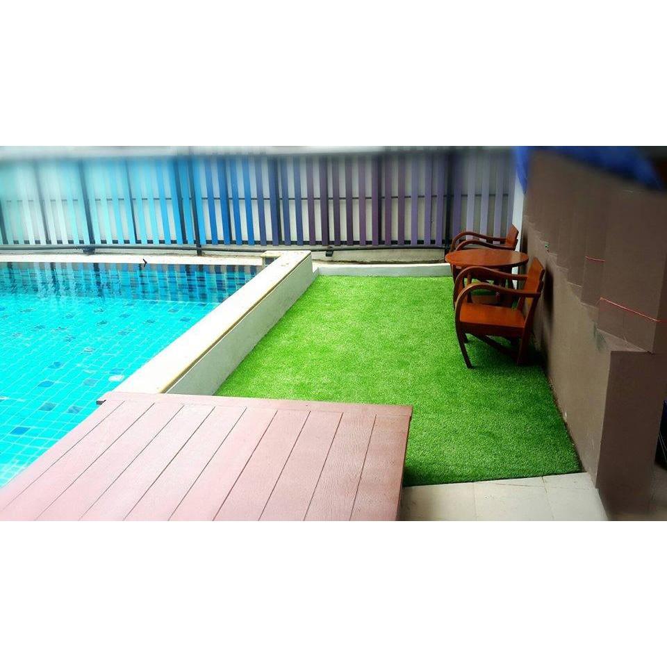 Thảm cỏ nhân tạo sân vườn 3cm chất lương cao | Cỏ nhân tạo SG