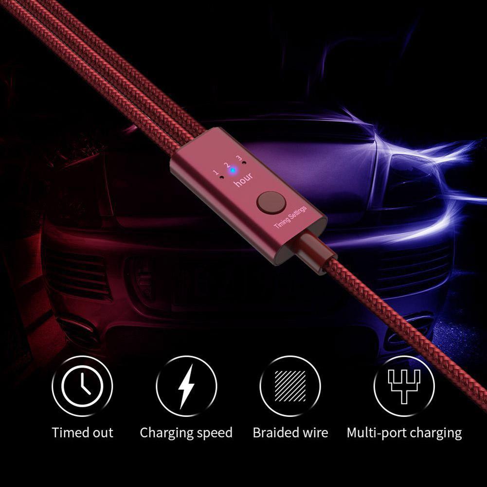 Dây Cáp Sạc Nhanh 3a 3 Trong 1 Dùng Cho Iphone / Android