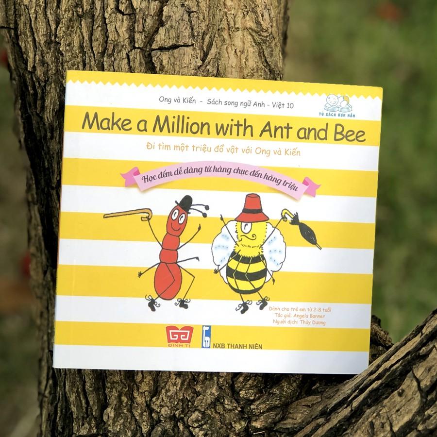 Sách - Ong Và Kiến (OK8: Các Từ Vựng Đơn Giản, Gần Gũi; OK9: Cảm nhận thiên nhiên; OK10: Học Đếm Dễ Dàng) (Lẻ tùy chọn)