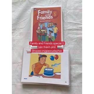 Flashcards Family and Friends Special 5- phiên bản thành phố