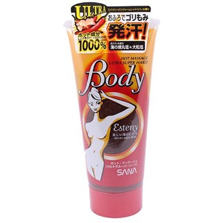 Kem tan mỡ bụng Esteny Body hot masage Sana gel Nhật thumbnail