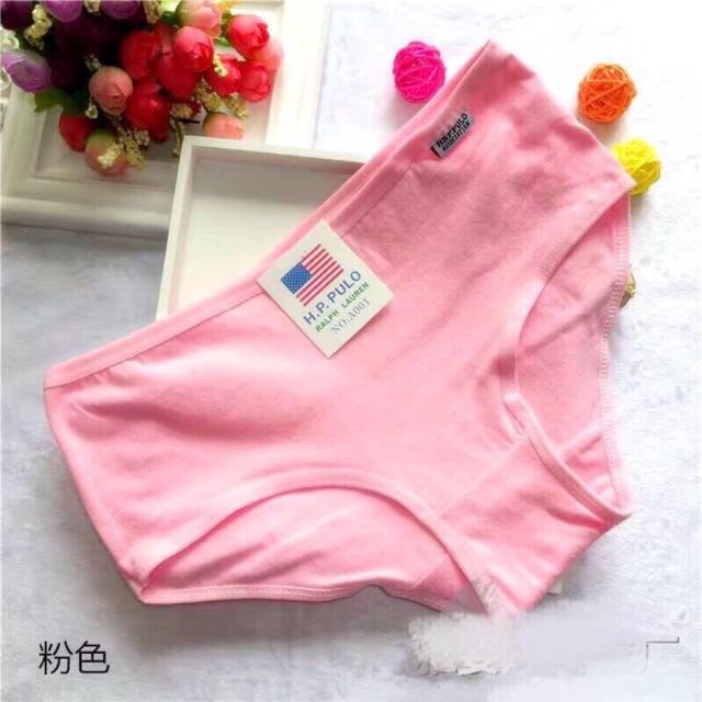 Combo 10 quần cotton nữ- quần lót cotton nữ đẹp. Combo 10 quần đủ màu | SaleOff247