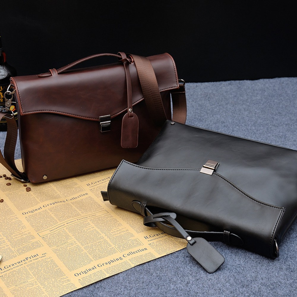 Túi xách nam da cao cấp kiểu dáng HQ-Pandavn90