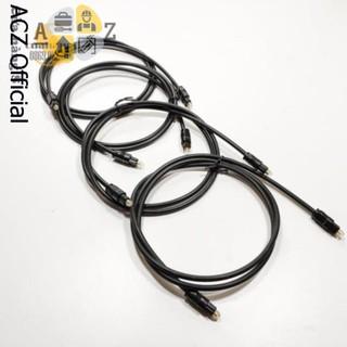 Cáp Optical audio nhựa đen tiêu chuẩn - Toslink