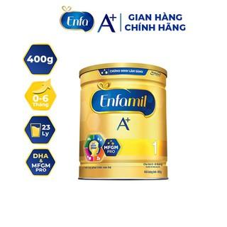 Sư a bột Enfamil A+ số 1 Lon 400g thumbnail
