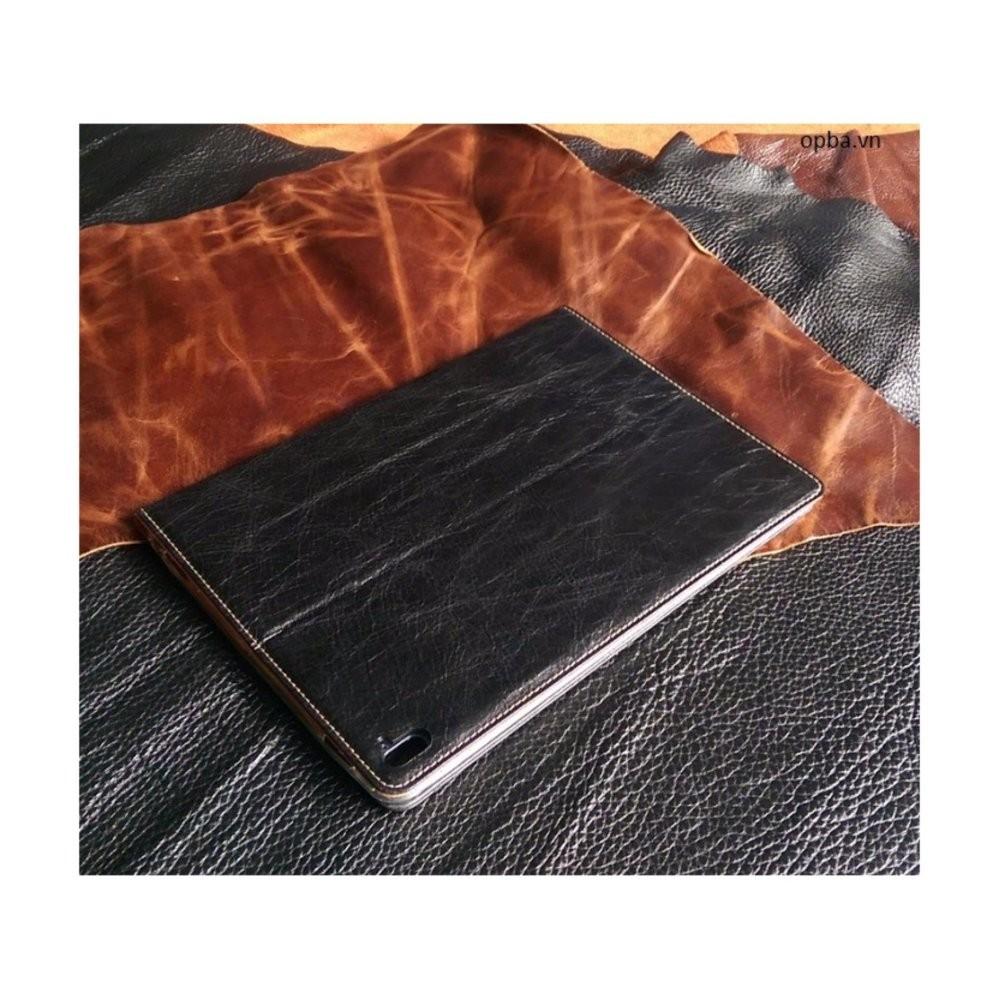 Bao Da Ionecase Ipad Pro 9'7 Inch Leather Màu Đen da bò Made In Việt Nam