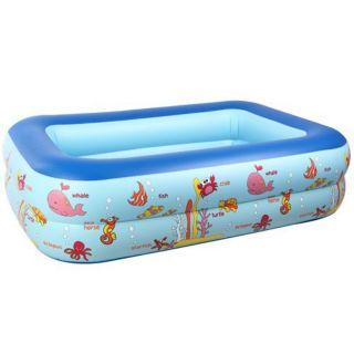Bể bơi 130cm tặng 1 tuýp keo và 2 miếng vá bể dự phòng