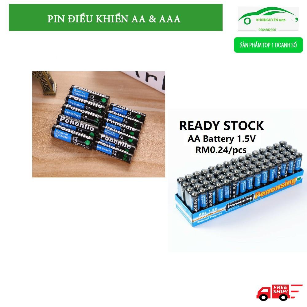 Pin tiểu AA hoặc AAA cho tivi điều hòa nóng lạnh điều khiển đa năng FREESSHIP  chất lượng tốt giá rẻ