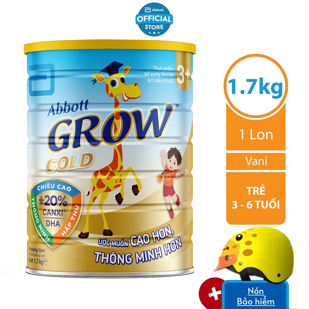 Sữa bột Abbott Grow 3+ 1.7Kg