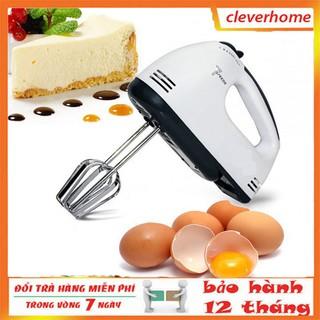 [BẢO HÀNH 12 THÁNG] Máy Đánh Trứng Cầm Tay Mini Cao Cấp Với 7 Tốc Độ Cực Mạnh thumbnail