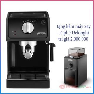 [Mã ELMS5TR giảm 5% đơn 5TR] Máy pha cà phê Delonghi ECP31.21 tặng máy xay cà phê Delonghi KG79