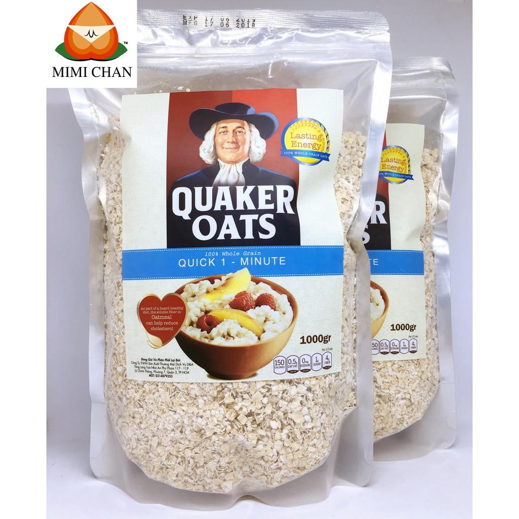 2kg Yến Mạch Cán Vỡ Quaker Oats Mỹ Nguyên chất 2kg Yến Mạch Cán Vỡ Quaker Oats Mỹ Nguyên chất