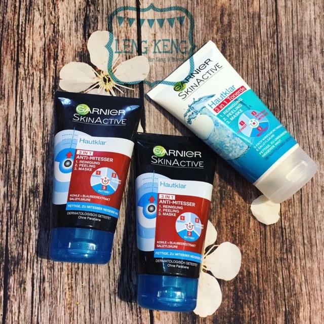 Sữa rửa mặt Garnier Skinactive 3in1 dành cho da dầu và da mụn hàng nội địa Đức - 2734252 , 977333020 , 322_977333020 , 220000 , Sua-rua-mat-Garnier-Skinactive-3in1-danh-cho-da-dau-va-da-mun-hang-noi-dia-Duc-322_977333020 , shopee.vn , Sữa rửa mặt Garnier Skinactive 3in1 dành cho da dầu và da mụn hàng nội địa Đức