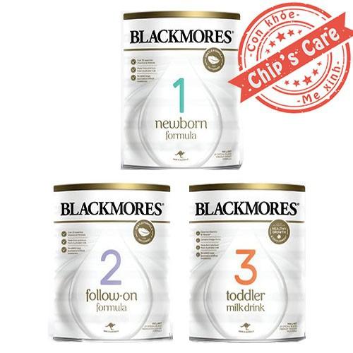 Sữa Blackmores số 1,2,3 cho bé 900g