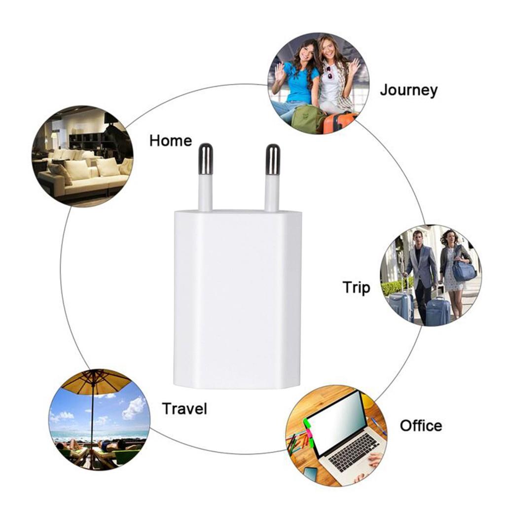 Đầu sạc iPhone du lịch tiện lợi