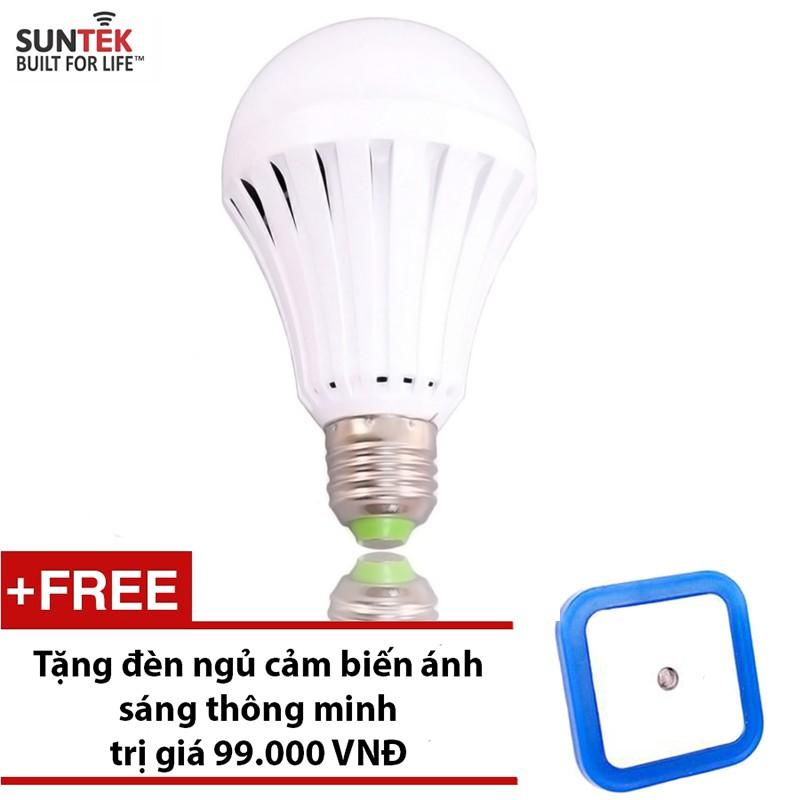Bóng đèn tích điện thông minh SUNTEK 12W + Tặng đèn ngủ cảm biến ánh sáng - 2921373 , 89019612 , 322_89019612 , 97000 , Bong-den-tich-dien-thong-minh-SUNTEK-12W-Tang-den-ngu-cam-bien-anh-sang-322_89019612 , shopee.vn , Bóng đèn tích điện thông minh SUNTEK 12W + Tặng đèn ngủ cảm biến ánh sáng