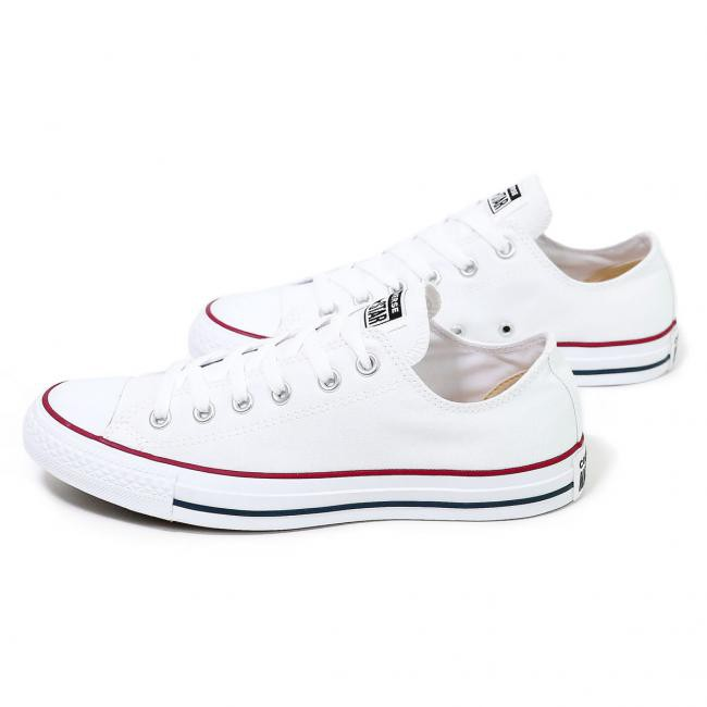 Giày unisex Converse Chuck Taylor All Star Classic White Low , SKU : 121176