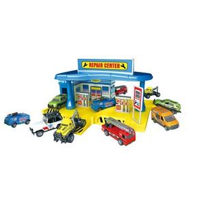 Đồ chơi xây dựng Trung tâm sửa chữa xe Six-six-zero 660-A104
