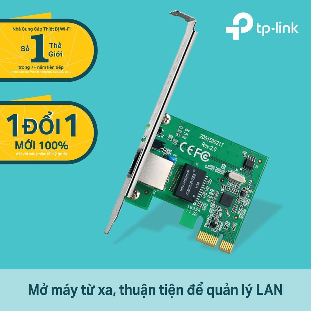 [Mã ELFLASH5 giảm 20K đơn 50K] Card Mạng Gigabit TP-Link TG-3468 - Hàng Chính Hãng