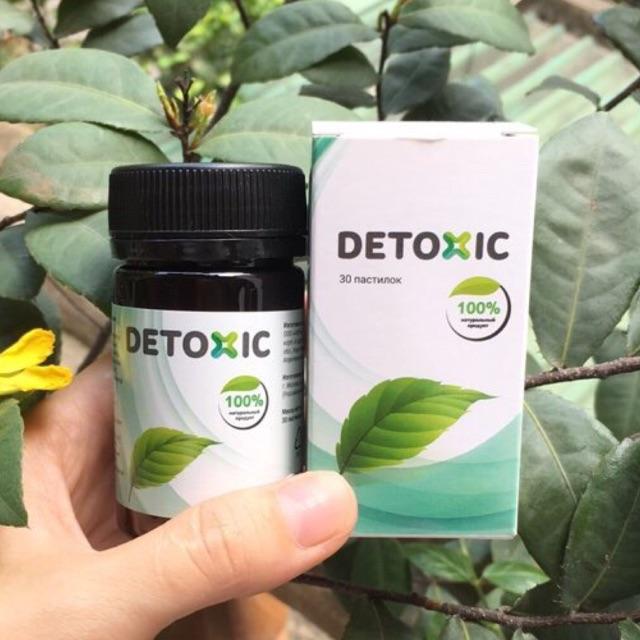 DETOXIC- cải thiện tiêu hoá diệt kí sinh trình