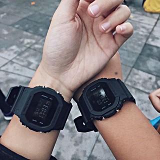 Đồng hồ nam, nữ SQUARE unisex dây nhựa kiểu dáng thể thao siêu chất