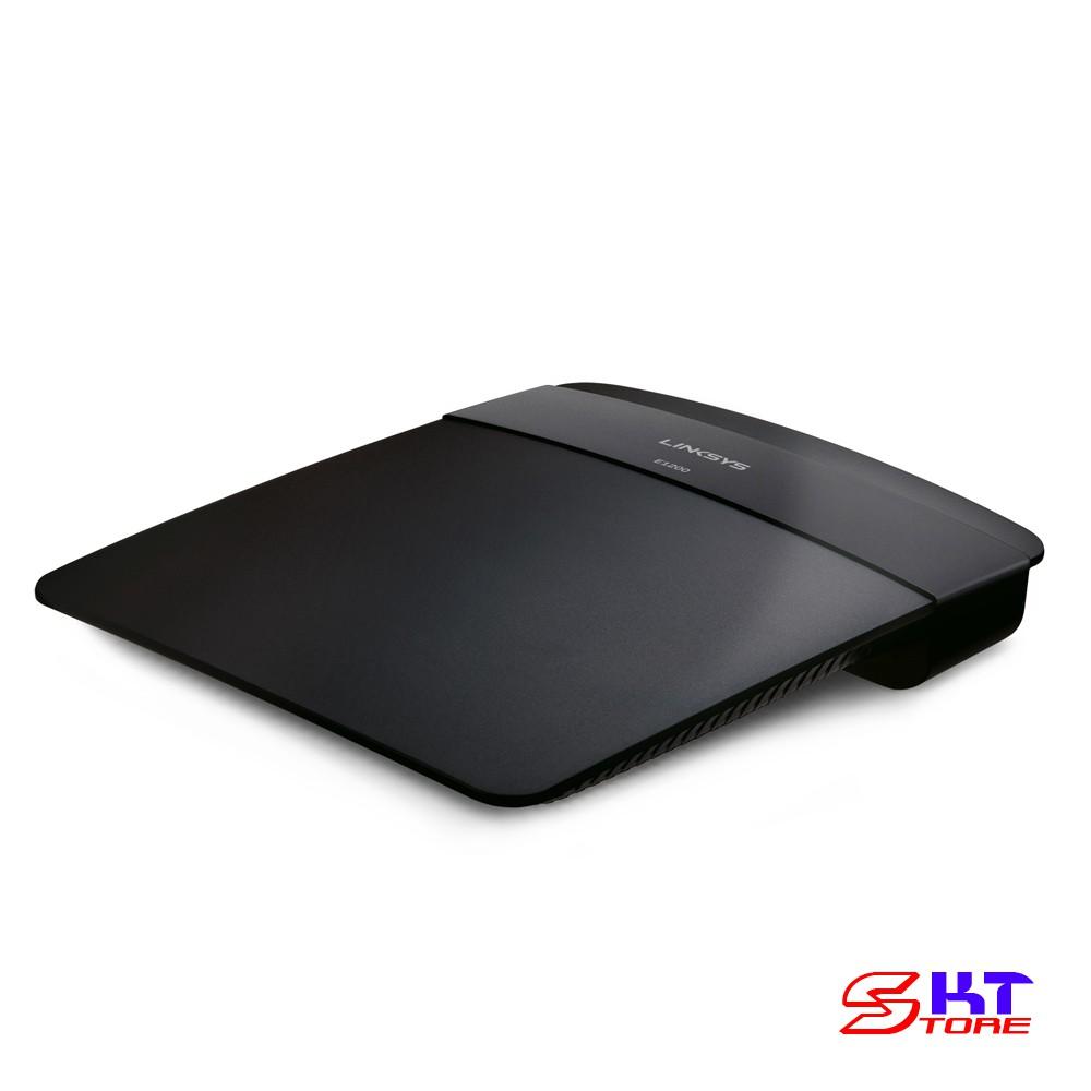 Bộ Phát Wifi Linksys E1200 Chuẩn N Tốc Độ 300Mbps - Hàng Chính Hãng