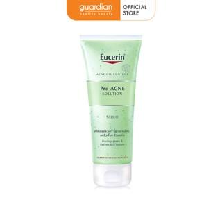 Tẩy tế bào chết ngăn ngừa mụn Eucerin Pro Acne Scrub 100ml-0
