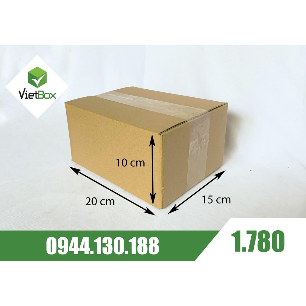Combo 20 hộp carton 20x15x10