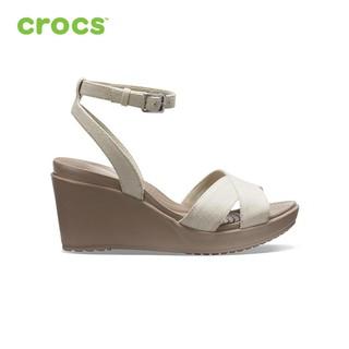 [Mã SUPE200K giảm 200K đơn từ 1tr2] Giày Nữ Crocs Leigh II Ankle Strap - 204950-14G thumbnail
