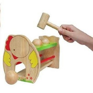 Bộ đồ chơi đập banh gỗ_quanghuy