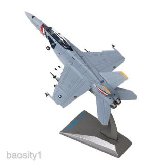 1/100 F18 Aircraft Static Model Airplane with Display Stand Collection Gifts
