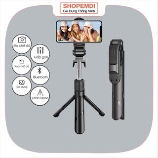 Gậy chụp ảnh XT-02, gậy tự sướng có bluetooth 3 chân đa năng,selfie , chụp hình, giá đỡ điện thoại, livestream