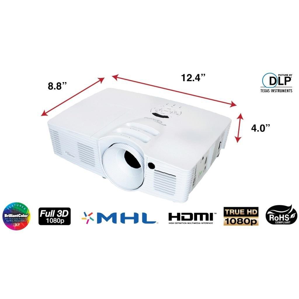 Máy chiếu 3D Optoma HD26 1080p cũ thanh lý hàng amazon ( tặng kèm chân treo ) Giá chỉ 10.500.000₫