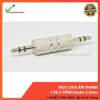 Jack 2 đầu 3.5mm