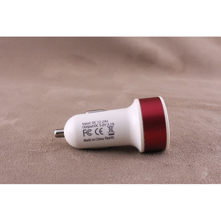 Đầu Sạc 2 Cổng USB Đa Chức Năng Trên Ô Tô USA 2976