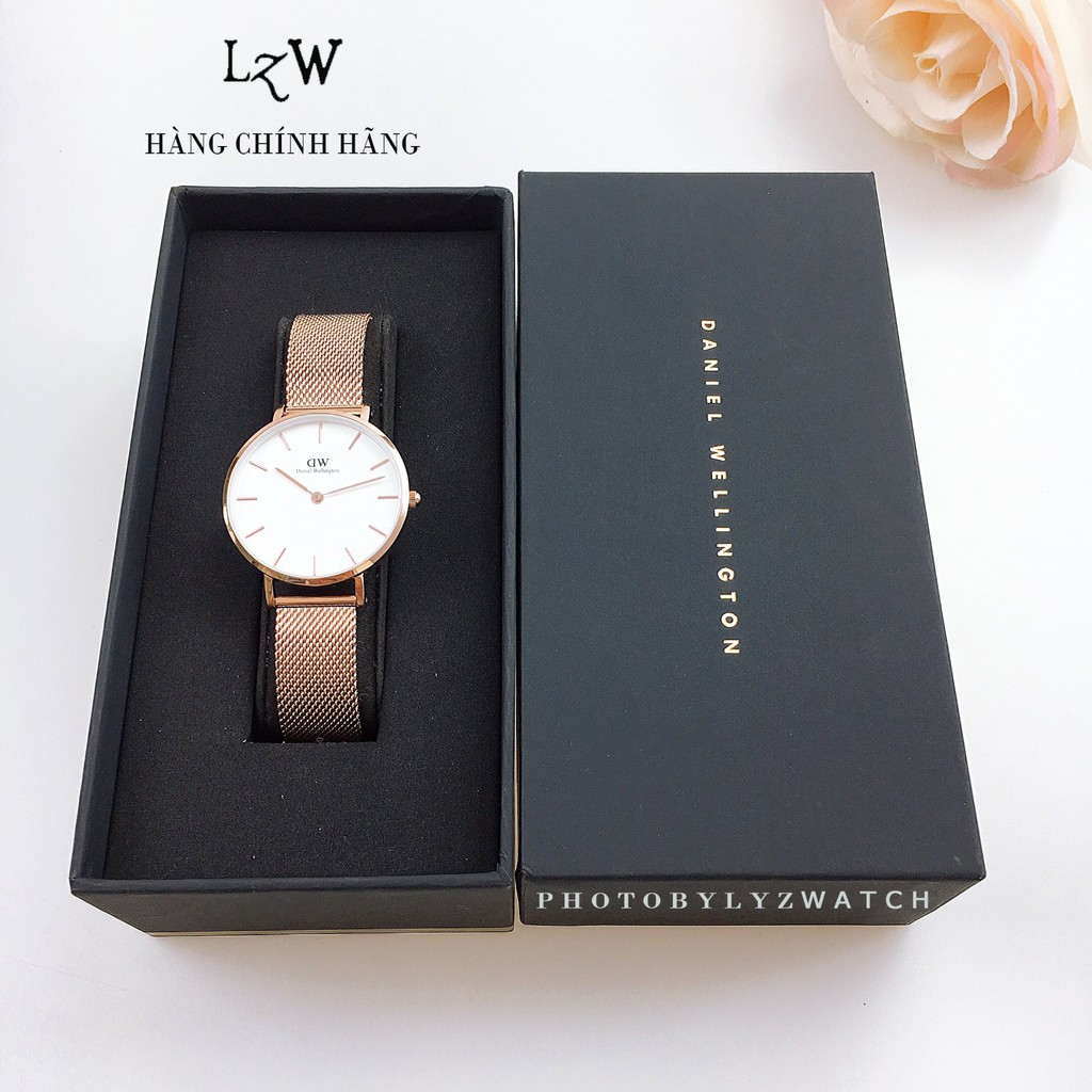Đồng hồ nữ Daniel Wellington Classic Petite Dây Mesh 32mm & 28mm - Hàng Chính Hãng
