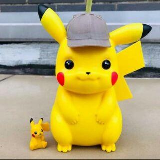 Bình nước Pikachu (Không kèm quà tặng)