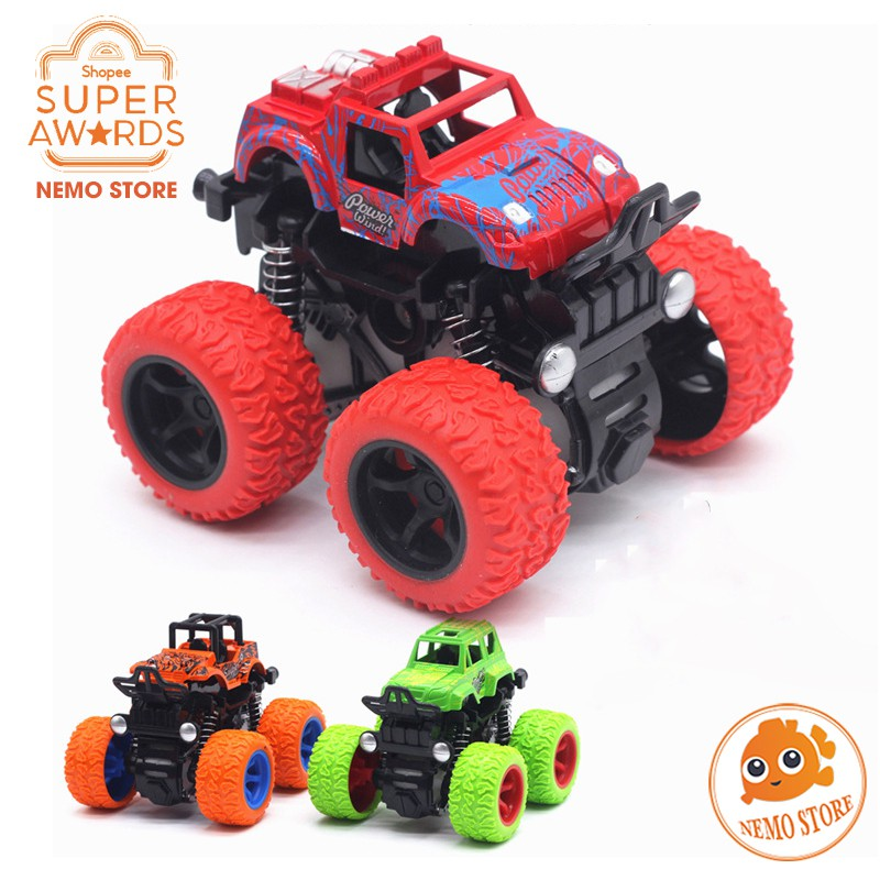 Xe Ô tô đồ chơi địa hình Buggy dùng quán tính bánh to cỡ lớn