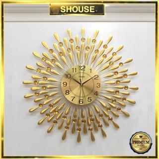 Đồng hồ Treo Tường Trang Trí Shouse A30 kim trôi quartz nghệ thuật cho phòng khách