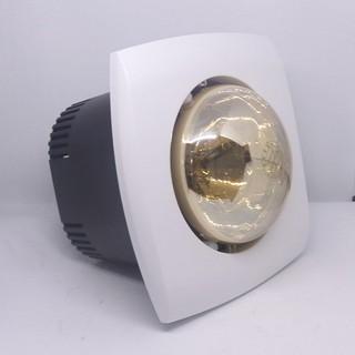 Đèn sưởi âm trần 1 bóng Milor ML-6008 - Bảo hành chính hãng 5 năm ( Mặt vuông)