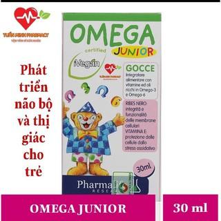 FITOBIMBI Omega Junior – Phát Triển Trí Não Cho Bé (Lọ nhỏ giọt 30ml) – Nhập Khẩu Từ Ý Chính Hãng
