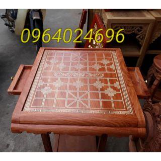 Bàn cờ gỗ hương đá 50×55