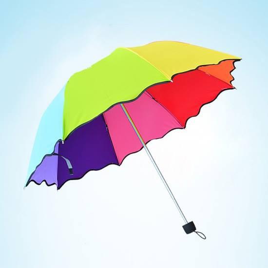 Ô dù đi nắng mưa 7 màu