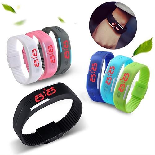 Đồng hồ thể thao điện tử có đèn led thời trang dành cho cả nam và nữ