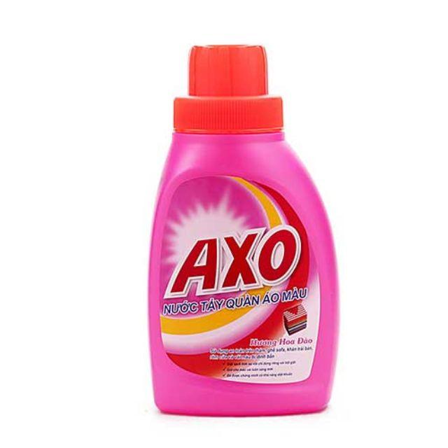 Nước tẩy quần áo màu AXO Hương Hoa Đào 400ml