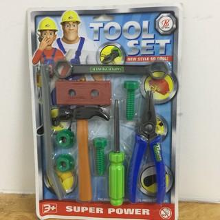 Bộ đồ chơi dụng cụ giúp bé tập làm kĩ sư dành cho bé Trai