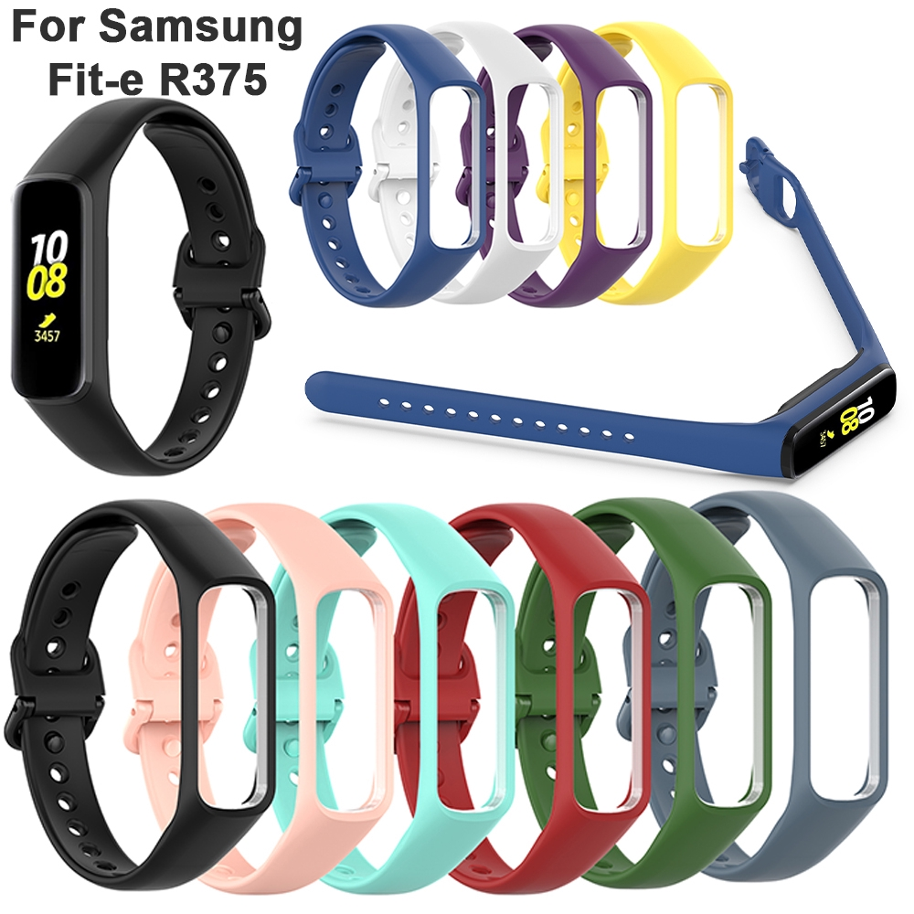 Dây Đeo Cao Su Thay Thế Cho Đồng Hồ Thông Minh Samsung Galaxy Fit-e R375